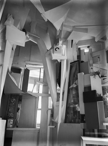 "Kurt Schwitters, ""Merzbau"", 1933; destroyed 1943.                 Photo: Kurt Schwitters Archive at the Sprengel Museum Hannover.                 Photographer: William Redemann, Hanover. © VG Bild-Kunst, Bonn, 2013."