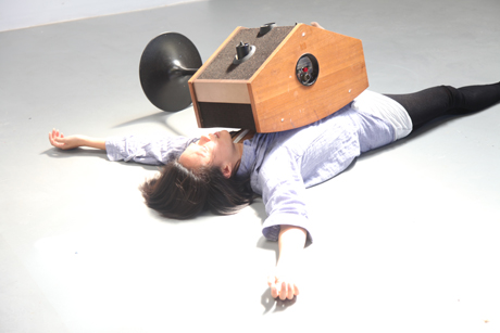 """The Cacophony of Memory"", Warren Neidich, 2013. Video still."